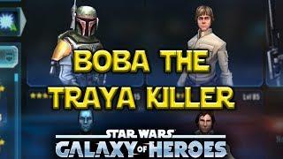 Download Boba Fett Lead - TRAYA KILLERS - Star Wars: Galaxy Of Heroes - SWGOH Video
