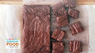 Download Triple-Chocolate Brownies (HEALTHY DINNER COLLAB!) - Everyday Food with Sarah Carey Video