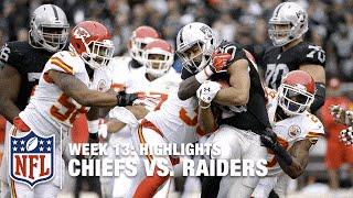 Download Chiefs vs. Raiders   Week 13 Highlights   NFL Video