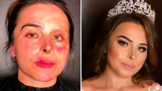 Download SHOCKING Makeup Transformations Goar Avetisyan and first impression after makeup Video