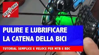 Download Come pulire e lubrificare la catena della bici? Video