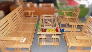 Download Mẫu bàn ghế gỗ phòng khách đẹp giá rẻ tại Hà Nội Video