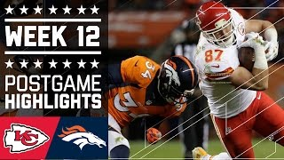 Download Chiefs vs. Broncos (Week 12) | Game Highlights | NFL Video