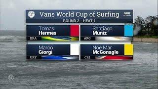 Download 2016 Vans World Cup: Round Two, Heat 1 Video