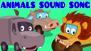 Download Animals Sound Song | Car Rhyme | Songs For Kids Video
