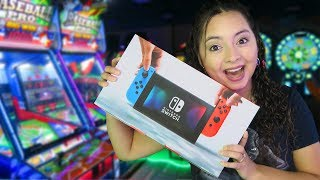 Download We won a Nintendo Switch at the arcade! Video