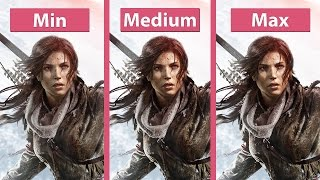 Download Rise of the Tomb Raider – PC Min vs. Max Detailed Graphics Comparison @1440p Video