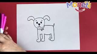 Download Como dibujar un perrito paso a paso! Video