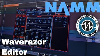 Download NAMM 2018 Waverazor Editor coming soon Video