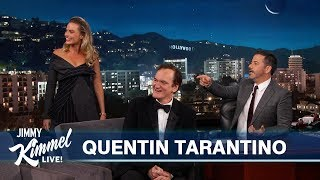 Download Quentin Tarantino on New Movie with Leonardo DiCaprio, Brad Pitt & Margot Robbie Video