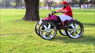 Download 4-wheeler on 28's doing donuts Video