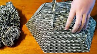 Download REVERSE Zen Magnet Pyramid 50,000 Buckyballs Magnetic Balls Neodymium Magnets Oddly Satisfying Video