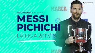 Download Leo Messi, Pichichi de La Liga 2017/18 Video