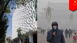 Download Smog-eating buildings the solution to Beijing's smog? Video