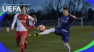Download #UYL play-offs highlights: Chelsea 3-1 Monaco Video