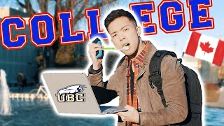 Download A Day in the Life of a Canadian University Student - UBC Video