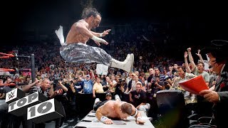 Download Raw's most extreme moments: WWE Top 10, Jan. 15, 2018 Video