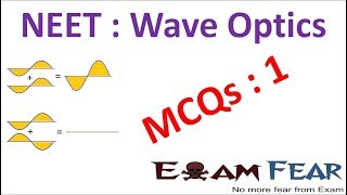Download NEET Physics Wave Optics : Multiple Choice Previous Years Questions MCQs 1 Video