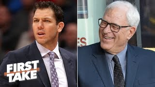 Download Stephen A. predicts Lakers will replace Luke Walton with Phil Jackson | First Take | ESPN Video