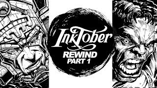 Download DRAWING HE-MAN! PUNISHER! HULK! POKEMON and More! - INKTOBER REWIND PART 1 Video