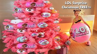 Download Christmas Tree in the STYLE of LOL surprise DOlls. + huge L.O.L. surprise Video