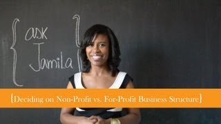 Download Starting a For-profit vs. Non-profit Business Video