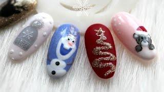 Download Zimowe / Świąteczne paznokcie hybrydowe cz.3   WINTER NAIL IDEAS ❄ Video