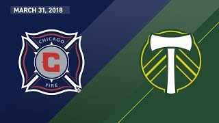 Download HIGHLIGHTS: Chicago Fire vs. Portland Timbers   March 31, 2018 Video