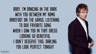 Download Perfect - Ed Sheeran (Lyrics) Video