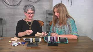 Download Make cuff bracelet for the endless loom on Beads, Baubles and Jewels with Leslie Rogalski (2708-2) Video