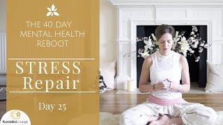 Download Anti Stress Breathing - Yoga for Mental Health - Day 25 with Mariya Gancheva Video