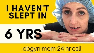 Download 24HR OBGYN CALL | WHO WAKES ME UP MORE? - NURSES/PATIENTS vs 4 KIDS - A VLOG STORY Video
