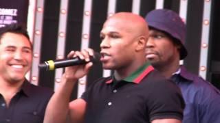 Download Floyd Mayweather insults Oscar de la Hoya Video