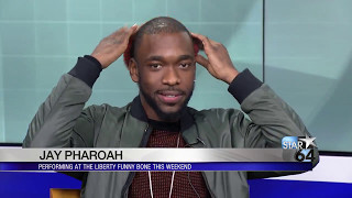 Download Jay Pharoah does several impressions ahead of his Liberty Funny Bone shows Video
