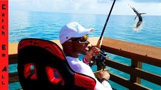 Download PEWDIEPIE $399 CHAIR FISHING! (Guy Tries to FIGHT FISHERMAN on PIER over FISH!) Video