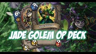 Download Hearthstone: Jade Golem Druid Deck Is Insane!!! Video