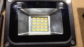 Download Teardown, autopsy and hack of dead SMD LED floodlight. Video