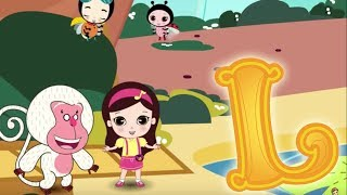 Download Letter L - Olive and the Rhyme Rescue Crew | Learn ABC | Sing Nursery Songs Video