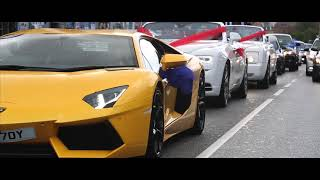 Download Imran Anwar - Wedding in Copenhagen [Lamborghini & Rolls Royce] Video