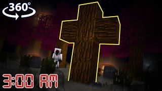 Download NEVER Play Minecraft at 3:00 AM! - Minecraft 360° Video Video
