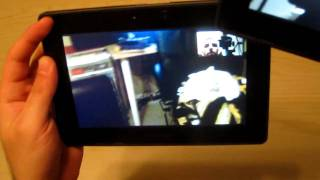 Download Blackberry Playbook Video Chat - How to Set Up & Demo - HD Video