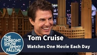 Download Tom Cruise Watches One Movie Each Day Video