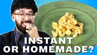 Download Can You Tell Instant Food Vs. Homemade Food? Video
