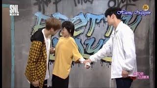 Download [Vietsub] Daniel, Minhyun WANNA ONE Cut @ Part 3/3 ″To The Beautiful You″ Parody SNL Korea Video