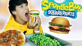 Download i only ate SPONGEBOB FOODS for 24 hours!!! Video