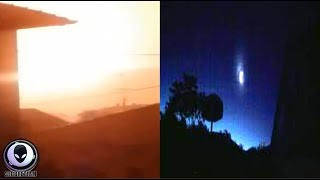 Download MYSTERIOUS SPHERE Lights Up Sky Over Italy 7/25/17 Video
