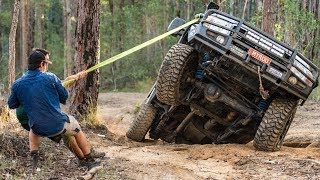 Download Australia's Toughest 4WD Tracks! Broken CVs, tailshafts and panel damage in the Glasshouse Mountains Video