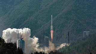 Download Twin satellites launched to develop China's BeiDou system Video