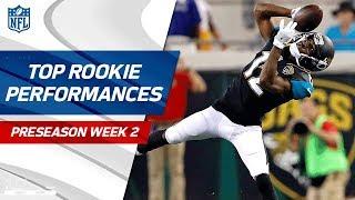 Download Top Rookie Performances of Week 2 | NFL Preseason Highlights Video