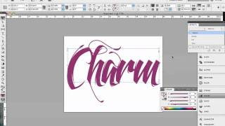 Download 3D Typography Effect in InDesign Video